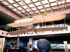 The Wright Flyer has been displayed at the Smithsonian, since 1948. It is now part of the National Air and Space Museum.