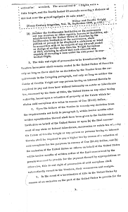 """Smithsonian-Wright Agreement of 1948"" page 3"